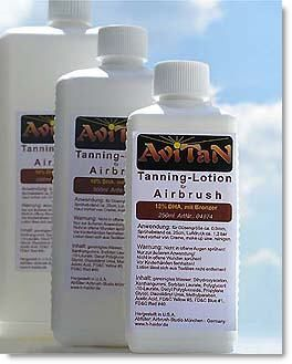 Tanning Lotion AVITAN 250ml 14% Bronzer