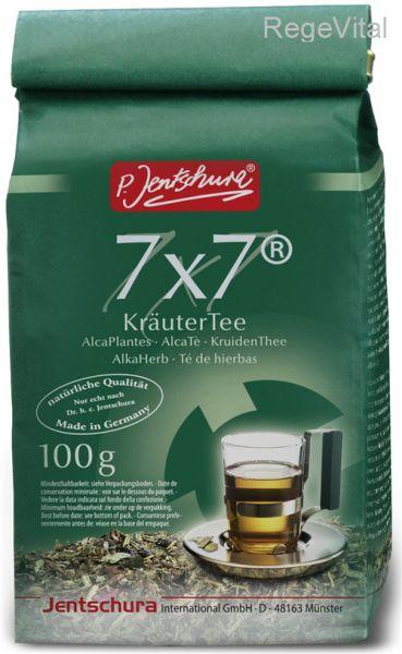 Peter Jentschura 7x7 KräuterTee 100g