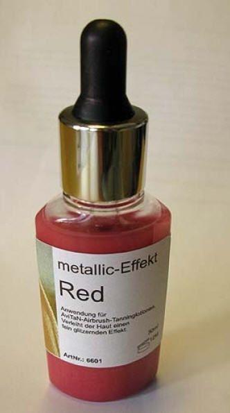 Tanning Zusatz metallic Red 30ml
