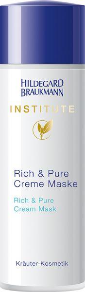 Rich & Pure Creme Maske Institute Hildegard Braukmann