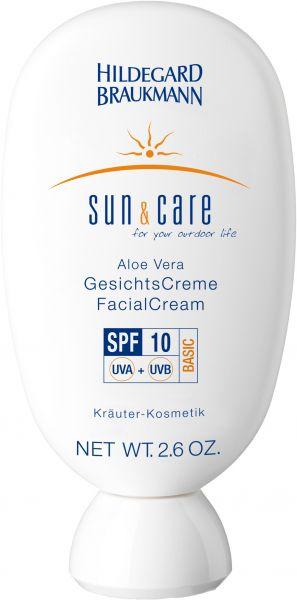 Aloe Vera GesichtsCreme SPF 10 Hildegard Braukmann