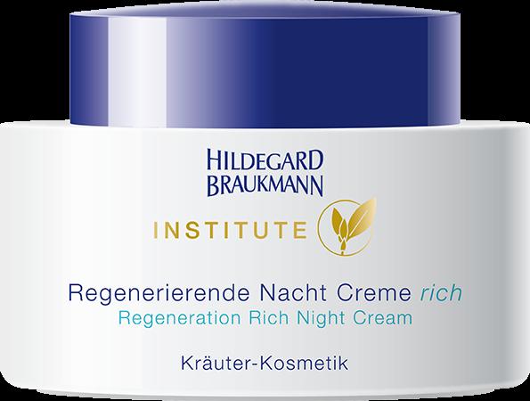 Regenerierende Nacht Creme rich Institute Hildegard Braukmann