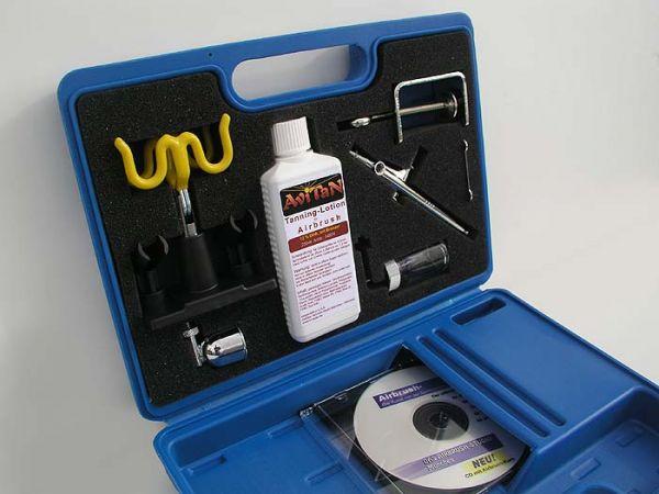 Airbrush-Tanning-Kofferset (ohne Kompressor)